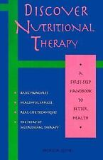 Discover Nutritional Therapy: A First-Step Handbook to Better Health-ExLibrary
