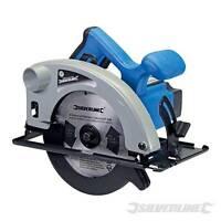 1200W Silverline Circular Saw 185mm Skill Saw + Blade Power Tool 230v 845135