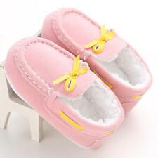 Baby Toddler Crib Shoes Infant Boys Girls Shoes Soft Sole Fleece Moccasin 13