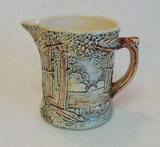 Vintage 1920's Weller Pottery Forest Pitcher.. 5 Inches Tall