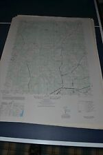 1940's Army topographic map Wellville Virginia -Sheet 5458 III NW