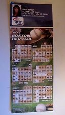Boston Red Sox 2013 Schedule,Magnetic Back, Regular Season schedule,World Series