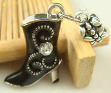 New European Silver Charm Bead Fit sterling 925 Necklace Bracelet Chain US x8A