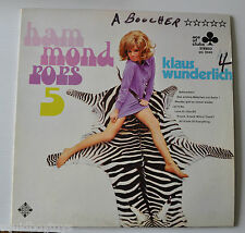 KLAUS WUNDERLICH: HAMMOND POPS #5 LP Record Sexy Cheesecake Cover ACE OF CLUBS