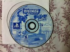 Digimon Rumble Arena  (Sony PlayStation 1, 2002)DISC ONLY