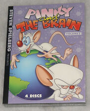 Pinky and the Brain: Volume 3 Complete (Steven Spielberg) DVD Box Set SEALED