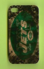 NEW YORK JETS 1 Piece Glossy Case / Cover iPhone 4 / 4S (Design 2)+ Stylus