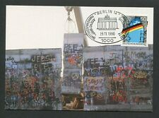 GERMANY MK 1990 BERLIN WALL MAXIMUMKARTE CARTE MAXIMUM CARD MC CM d8860