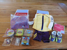 AMERICAN GIRL MYAG TRAIL ACCESSORY SET + CYCLING OUTFIT NEW IN BOX FREE SHIPPING