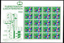 Liechtenstein 1960 398 ** Post fresco piccoli archi Europa (s9054d