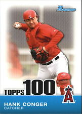 2010 Bowman Topps 100 Prospects #TP99 Hank Conger Angels