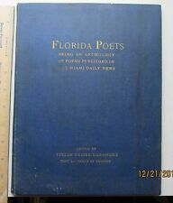 1933 Florida Poets  Anthology poems published in the miami daily news