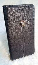 Leder Handy Case Schutz Hülle Tasche Silikon Bumper Etui für iPhone 4 4g - 4s