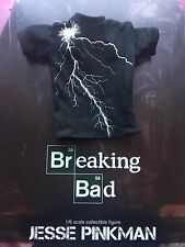 Brba Threezero Breaking Bad Jesse Pinkman Camiseta Negro Suelto Escala 1/6th