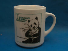 Vanishing Acts GIANT PANDA Porcelain Coffee Mug Tea Cup