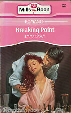 Breaking Point by Emma Darcy (Mills & Boon paperback)