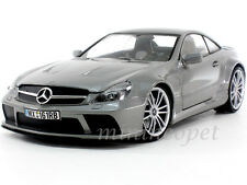 MOTORMAX 79161 MERCEDES BENZ SL 65 AMG BLACK SERIES 1/18 DIECAST GREY