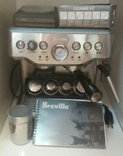Breville the Barista Express BES860XL 8 Cups Espresso Machine - Silver
