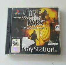 Playstation 1 PS1 Game - Alone In The Dark The New Nightmare