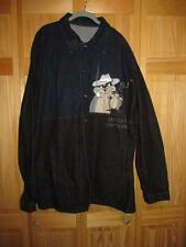 HISTORY ICEBERG LIMITED EDITION CLYDE CASH RACCOON DENIM JACKET MENS SIZE 3XL