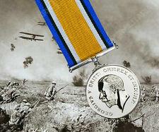 Britannico PRIMA GUERRA MONDIALE guerra Medaglia COMPLETO MISURA UK Fatto