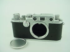 LEICA IIIF EARLY CAMERA BODY,BLACK DIAL - Very Clean & Works Great