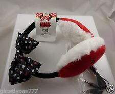 Minnie Mouse ear muffs head phones headphones play your music Disney