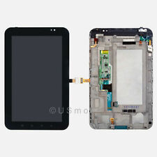 US Samsung Galaxy Tab 7 I800 LCD Screen Display + Touch Digitizer Screen + Frame
