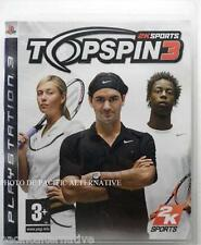 jeu TOP SPIN 3 sur PS3 playstation 3 en francais tennis sport spiel juego game