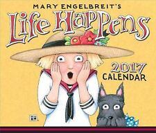 Mary Engelbreit 2017 Desk Box Calendar : Life Happens by Mary Engelbreit