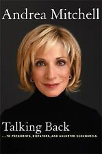 Talking Back to by Andrea Mitchell (2005) NEW HARDCOVER