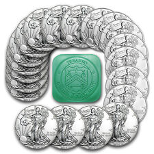 SPECIAL PRICE! 2016 1 oz Silver American Eagle Coins BU (Lot, Roll, Tube of 20)