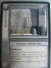 LOTR TCG Rise of Saruman SOLDIER'S CACHE error card