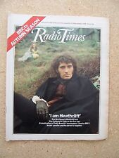 Radio Times/1978/Wuthering Heights/Emily Bronte/Larry Grayson/Stephen Yardley/