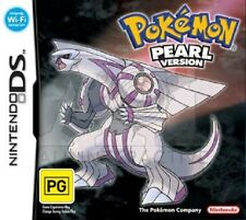 Pokemon Pearl Version (Nintendo DS, 2007)  NEVER USED - GENUINE PAL VERSION