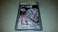 True Blood: French Quarter #1 (August 2011, IDW) CGC 9.2 SS Charlaine Harris WP