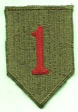 US Army Early Vietnam Era 1st Infantry Division Color Patch Cut Edge