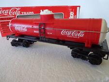K-LINE COKE O/027 SCALE TRAIN CAR COCA COLA  COKE SINGLE DOME TANK CAR  6317