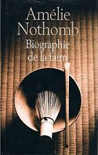 AMELIE NOTHOMB BIOGRAPHIE DE LA FAIM + PARIS POSTER GUIDE