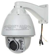 Auto tracking PTZ camera , HD 700TVL 30X zoom 360°/s , Auto tracking speed dome