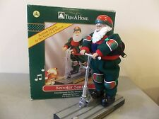 "not working moving  santa 14"" battery operated amimated singing gogo scooter"