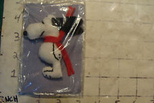 unused SNOOPY PIN made of fabric, very cool, purchased in 1967