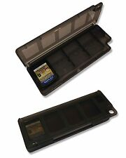 8 x BLACK GAME CARD CASE HOLDER for SONY PS Vita CARTS UK Seller