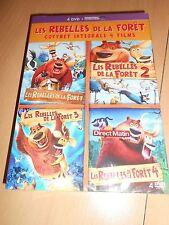 coffret dvd LES REBELLES DE LA FORET intégrale 4 films - sous blister