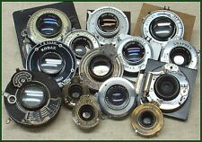 Big lot of miscellaneous vintage American lenses in shutters!!