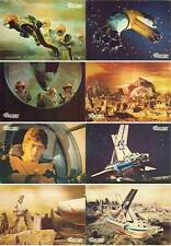 Grosse Krieg der Planeten Fotosatz 8 Complete Lobby Card Set War in Space Fukuda