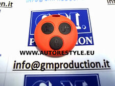 COVER CASE ORANGE FOR REMOTE CONTROL SMART FORTWO 450 3 BUTTONS USA YOUR KEY