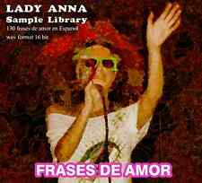 Lady Anna : Frases de Amor (en Espanol) Sample library -130 phrases in Spanish