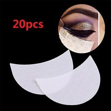 20Pcs Set Eye Shadow Shields Patch Eyelash Pad Under Eye Stickers Makeup Supply