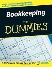 Bookkeeping For Dummies (For Dummies (Business & Personal Finance))-ExLibrary